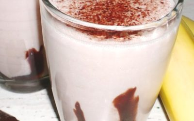 Koktajl bananowo-czekoladowy