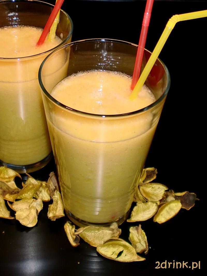 Koktajl brzoskwiniowo-ananasowy