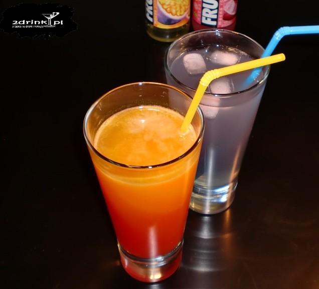 Drinki z Frugo (pomarańczowe i różowe)