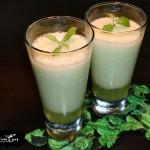 Zielony koktajl z melona