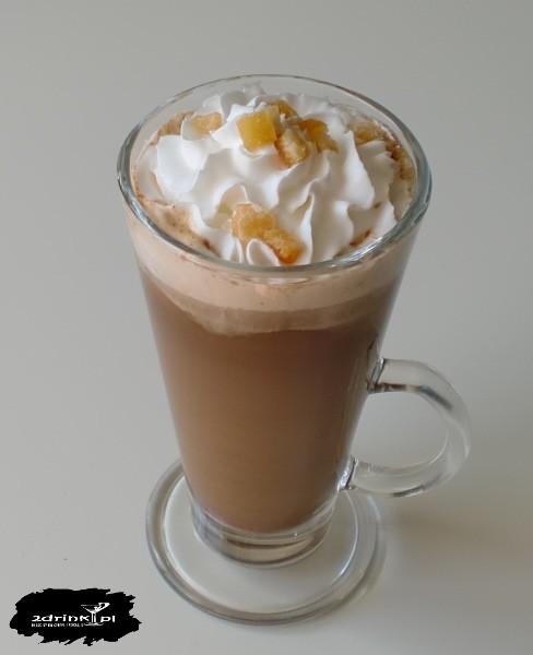 Kawa czekoladowo-pomarańczowa