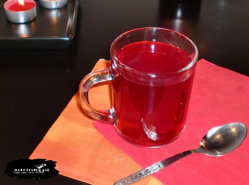 Herbata malinowa z prądem