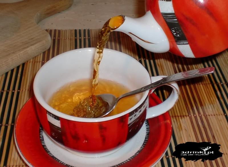 """Herbata """"chorobliwa"""" wg. M. Kalicińskiej"""