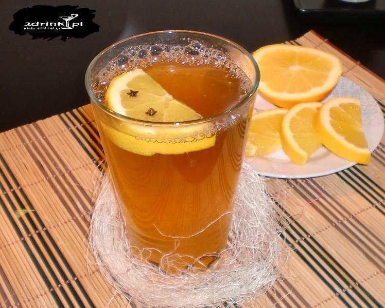 Grzane piwo z pomarańczą