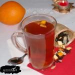 Świąteczna herbatka z pomarańczą
