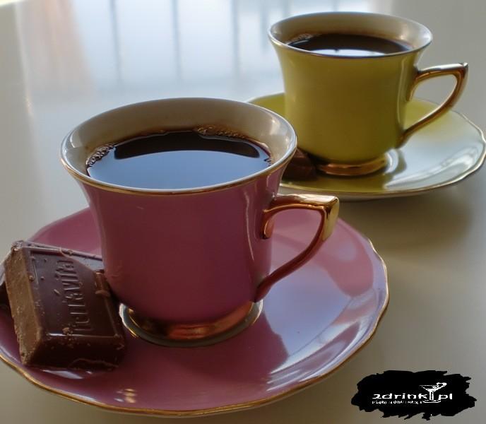 Mocno czekoladowe espresso