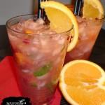 Wybuchowy drink pomarańczowy