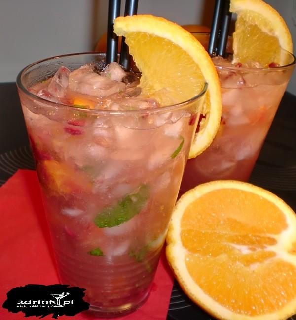 Wybuchowy drink pomaranczowy