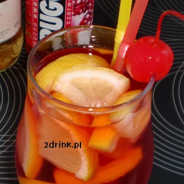 Drink z czerwonym Frugo