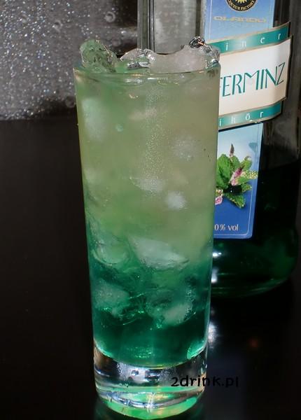 Mint Frappe z grejpfrutem