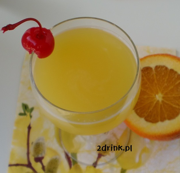 Orange Blossom – prosty drink z ginu