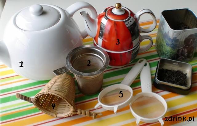 Herbaciane porady: Akcesoria do parzenia