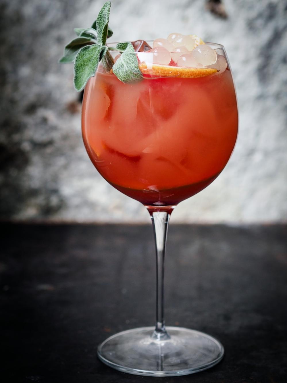 Krasnal – drink z grejpfrutówki