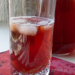 Domowa Lipton Ice Tea malinowa
