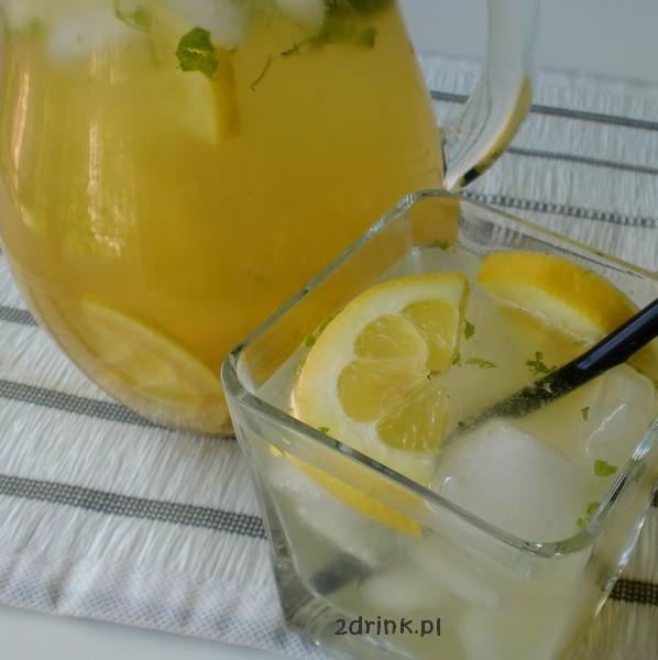 Lemoniada miętowo-imbirowa