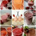 Koktajl truskawkowy – 15 prostych przepisów