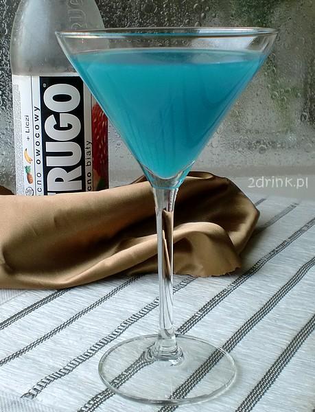 Smerf - drink z białym Frugo