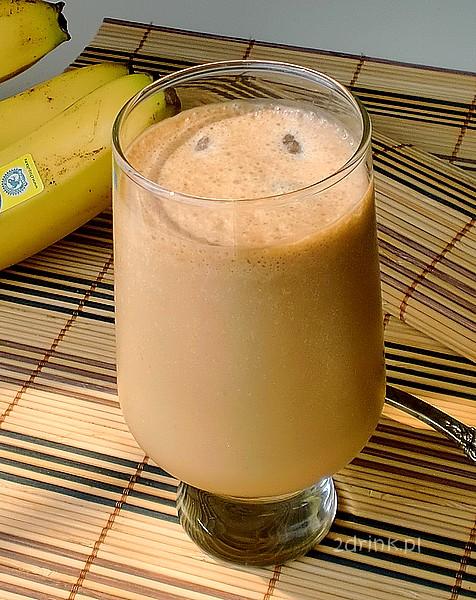 Kawa krówkowa z bananem
