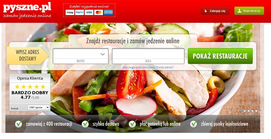 Dla leniwych – zamawianie jedzenia online
