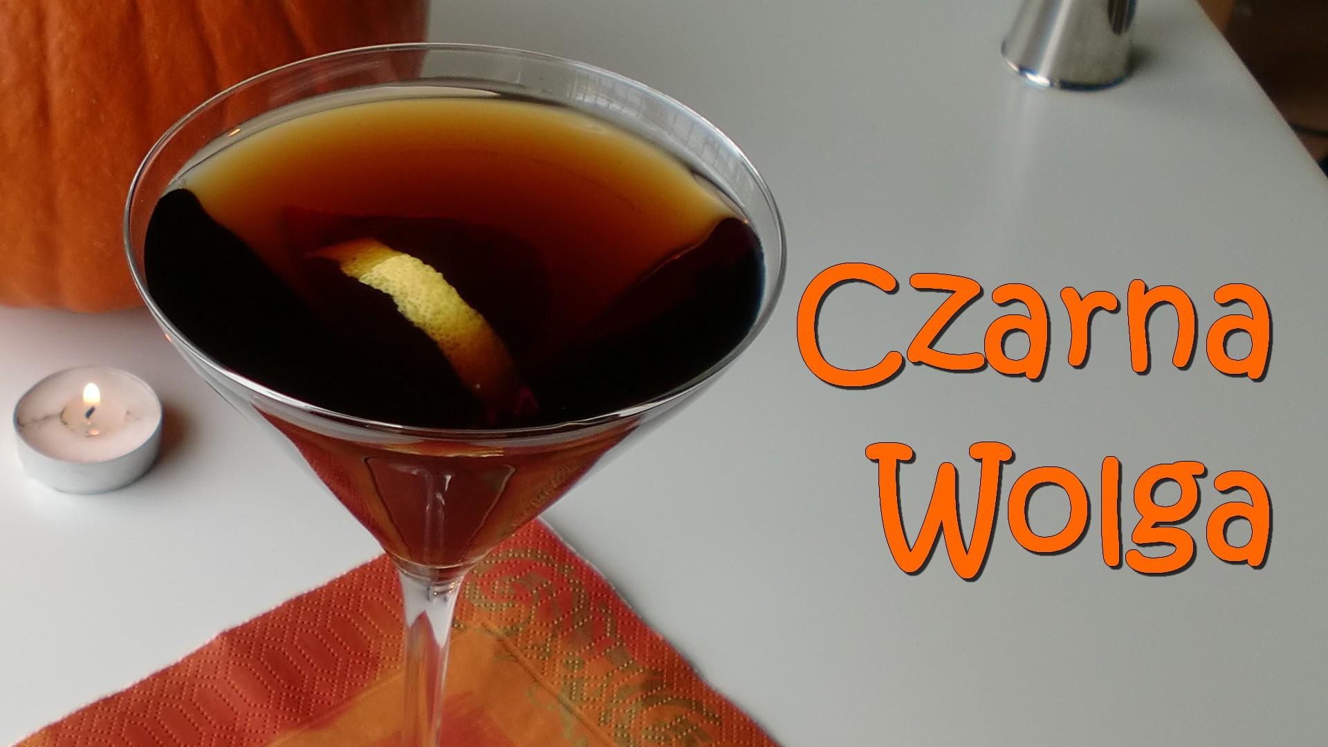 Drinki na Halloween: Czarna Wołga