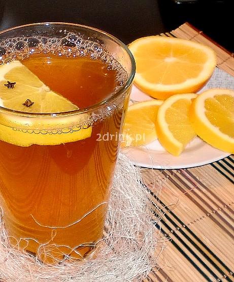 grzane piwo z pomarancza