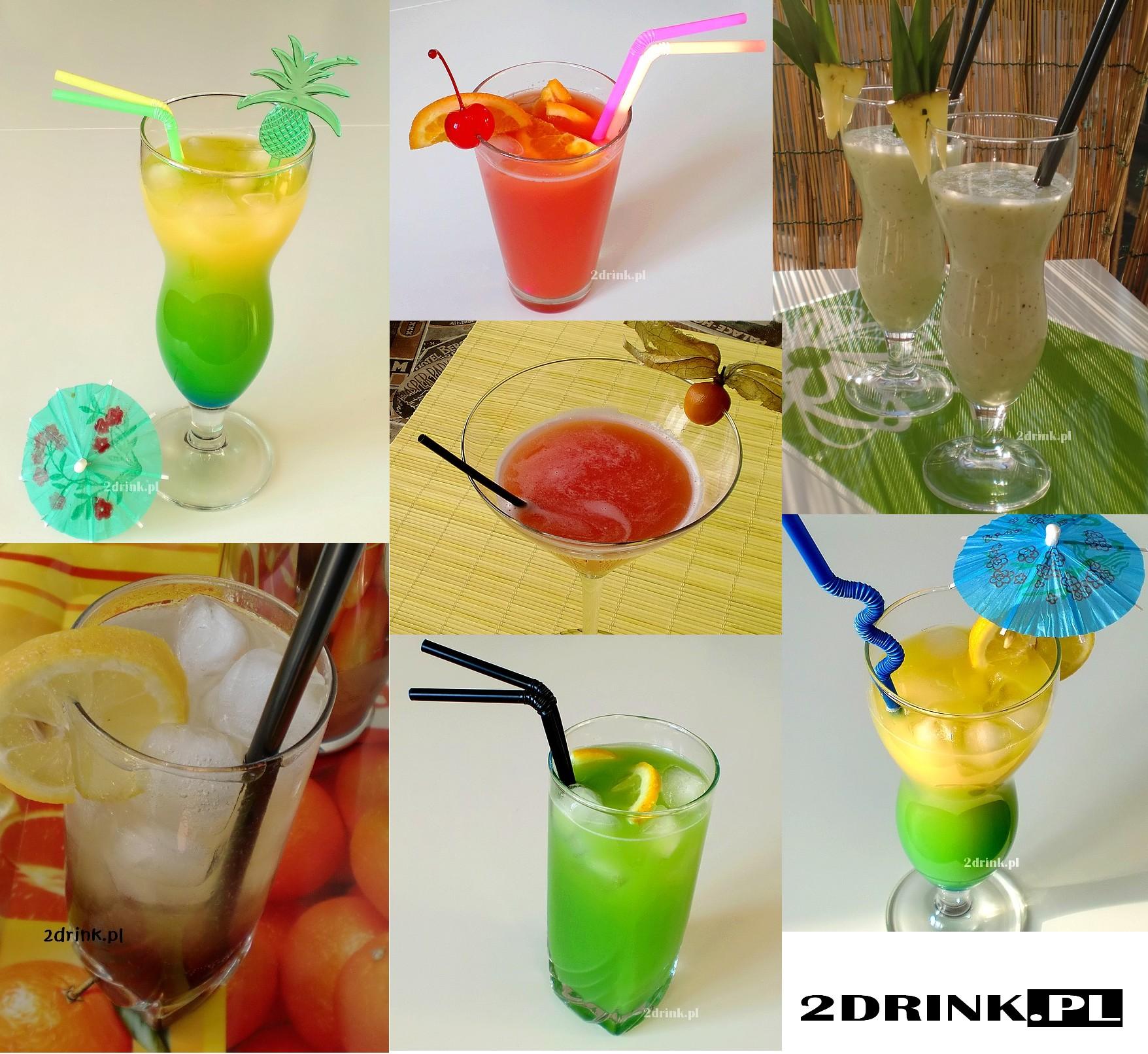 Słomki do drinków i inne dekoracje