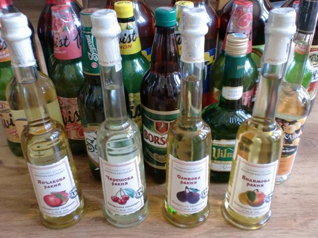 Piwa, wódki i likiery z Rumunii, Bułgarii i Węgier