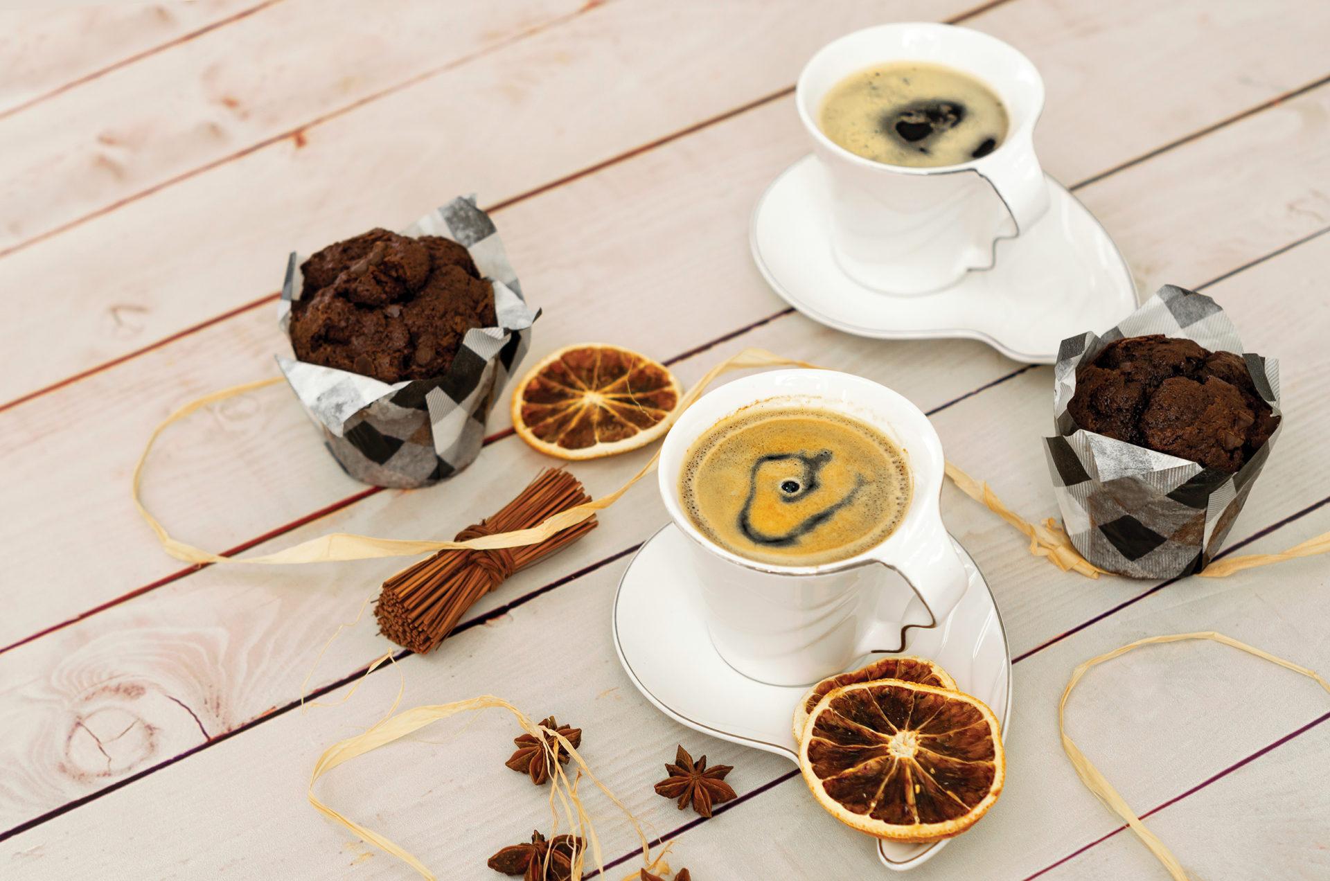 Pikantna kawa z pomarańczą