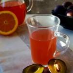 Śliwkowy napój rozgrzewający bezalkoholowy