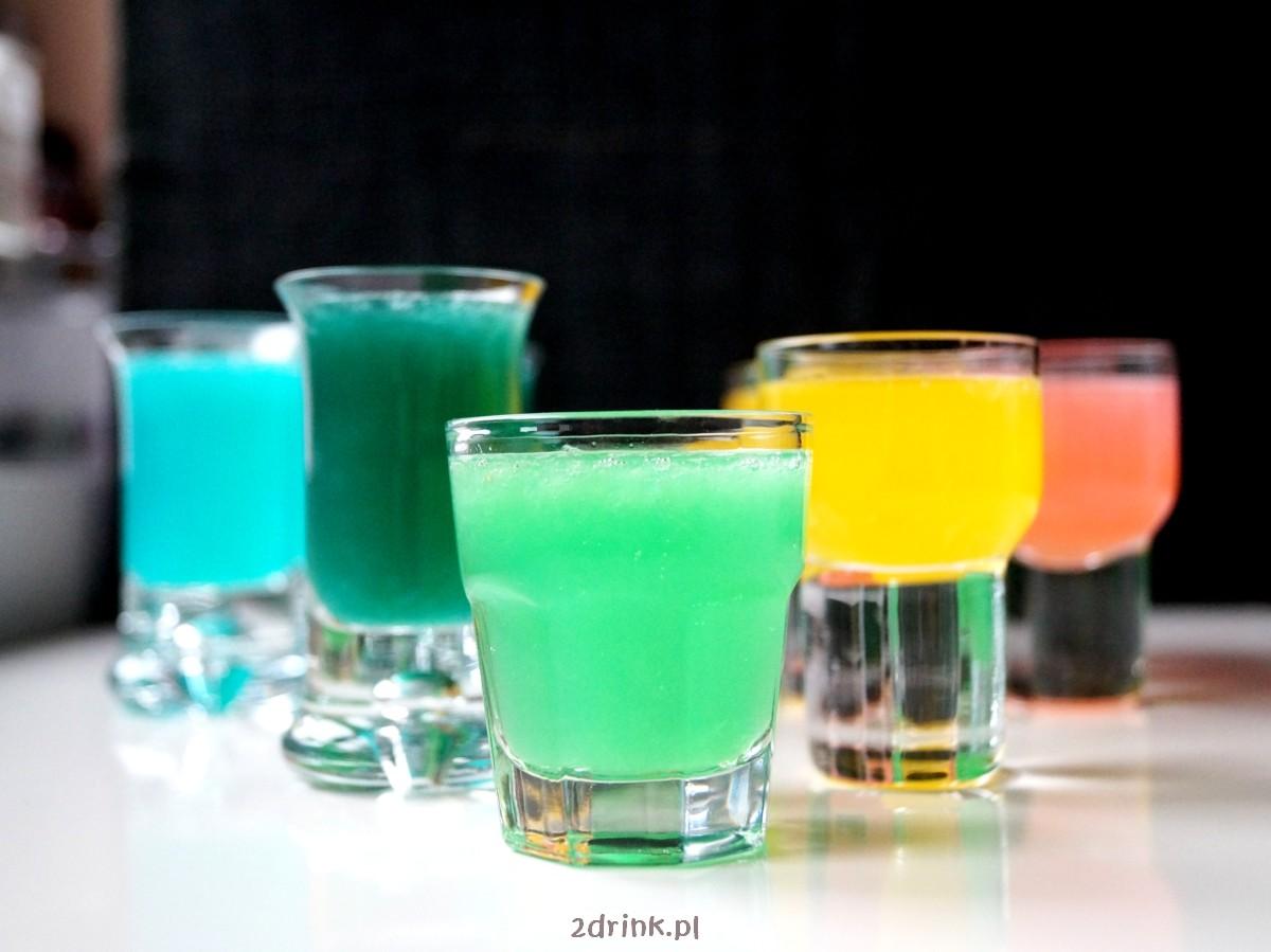 Kamikaze w 5 kolorach