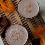 Koktajl melonowy z bananem i kakao