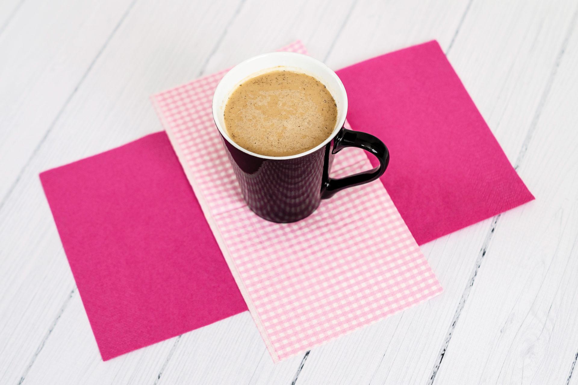 Kawa z prażonymi migdałami