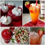 7 pomysłów na drinki z truskawek
