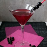 Blackcurrant Martini