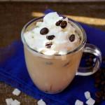 Podwójnie kokosowa kawa mrożona