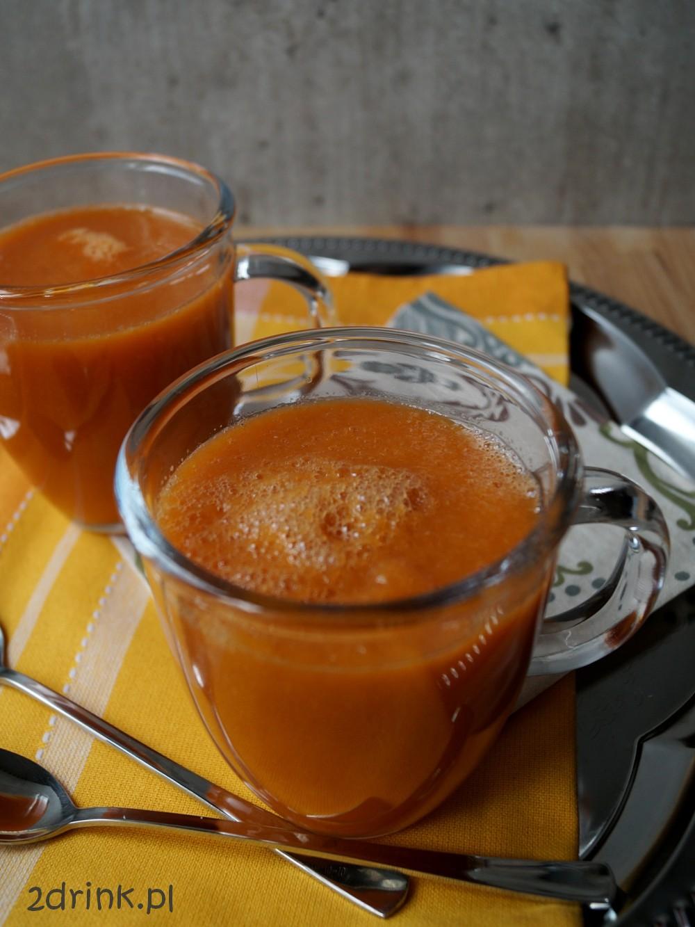 Koktajl z melona i nektarynki