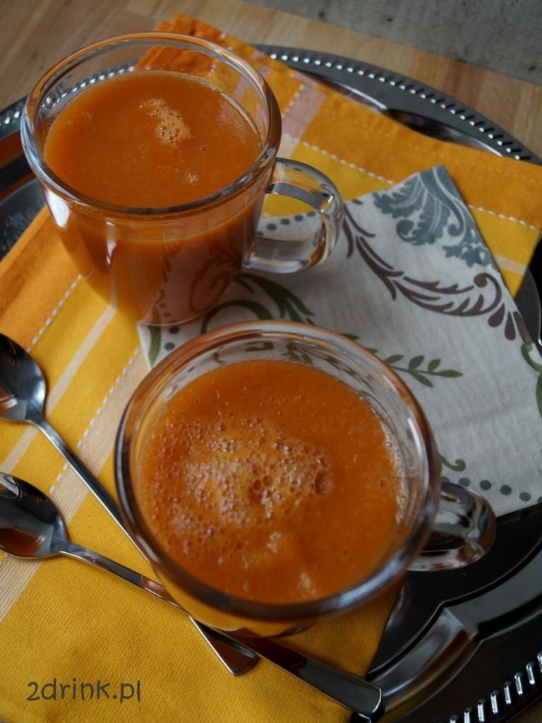 koktajl z melona i nektarynek