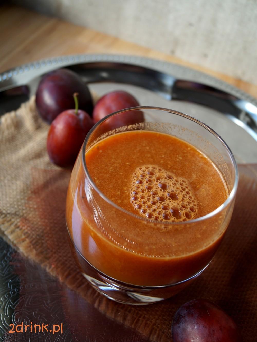 Sok ze śliwek z marchewką