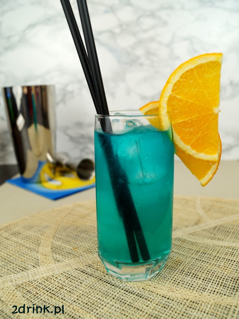 Blue Long Island Ice Tea