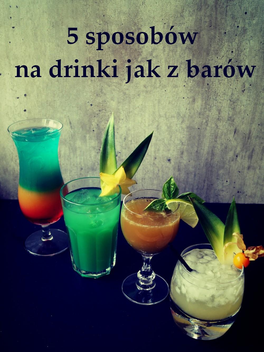 drinki jak z barow