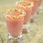 Shot Strawberry cake