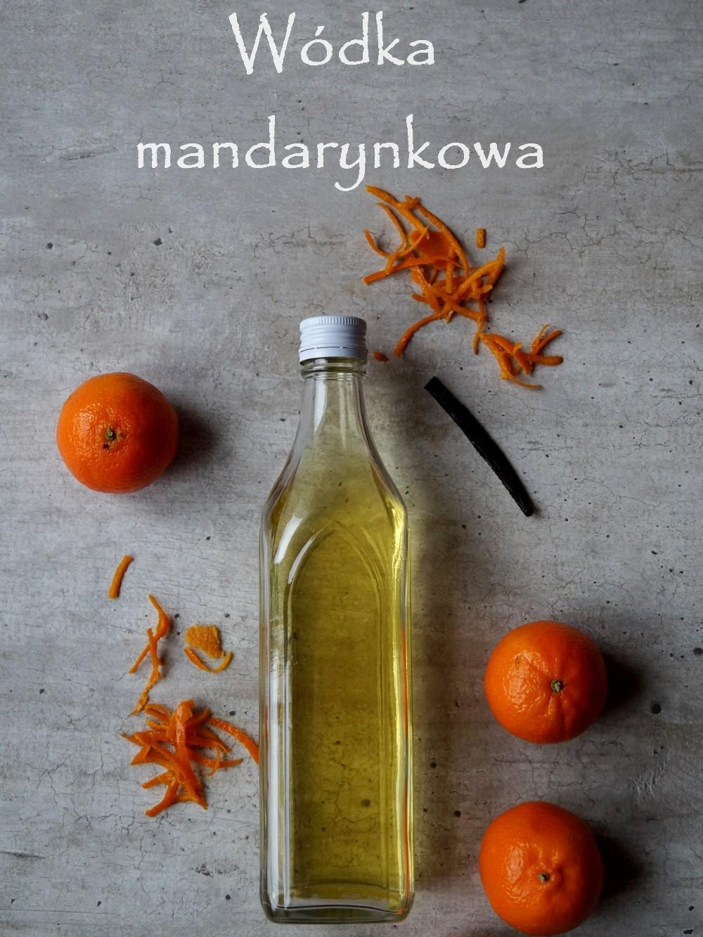 Wódka mandarynkowa – łatwy przepis