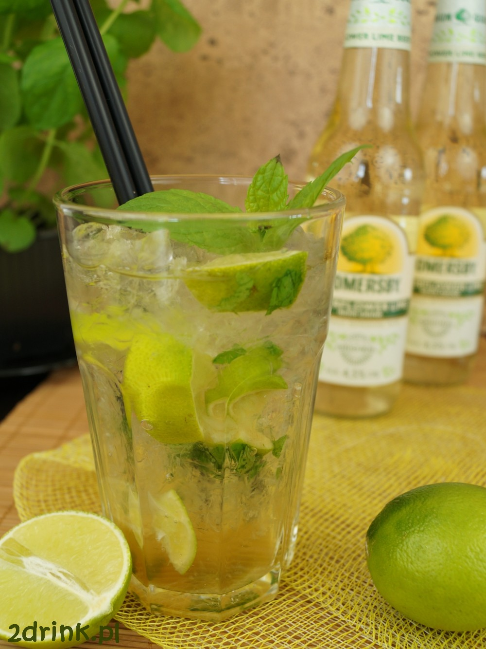 Mojito z Somersby Elderflower Lime