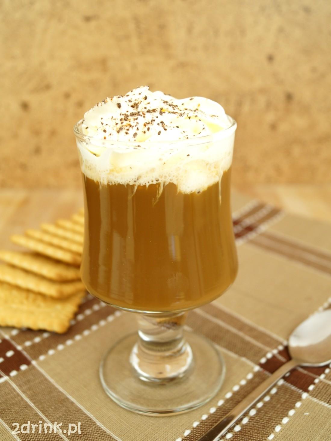 Kawa mrożona z kajmakiem