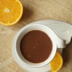 Czekolada na gorąco z pomarańczą