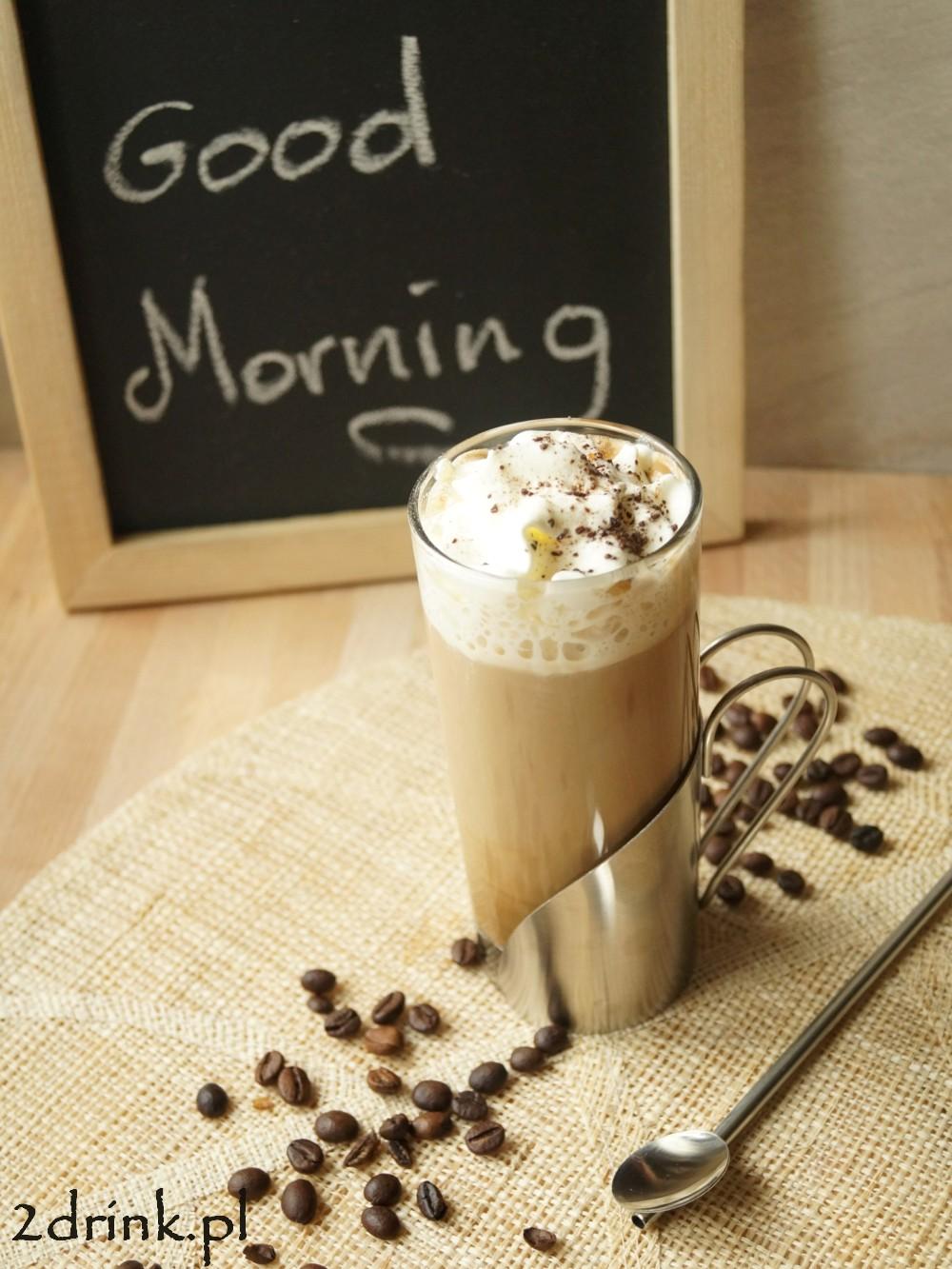 Kawa z likierem orzechowym