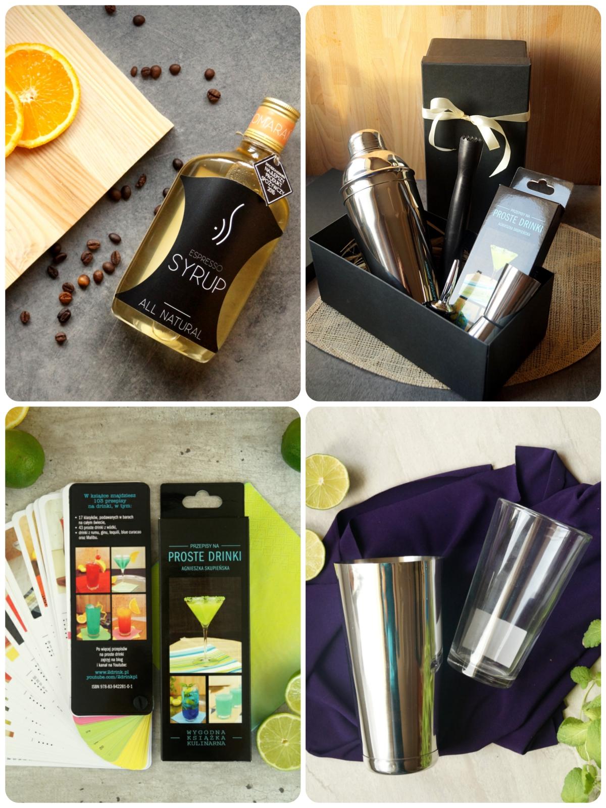 Pomysły na prezent związany z drinkami – zestawy, syropy i nie tylko