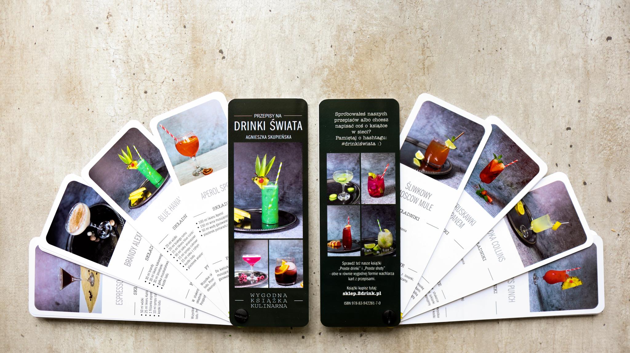 Drinki świata – premiera mojej TRZECIEJ książki